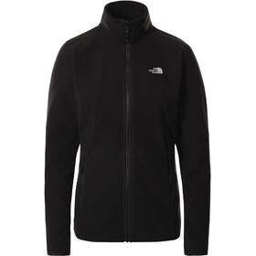 The North Face 100 Glacier Full Zip Jacket Women, zwart
